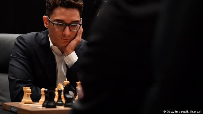 Schach-WM in London (Getty Images/B. Stansall)