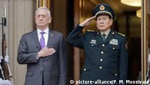 Jim Mattis, Wei Fenghe (picture-alliance/P. M. Monsivais)