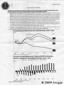 Briefing paper des Council of Economic Advisors (DW/M.Knigge)
