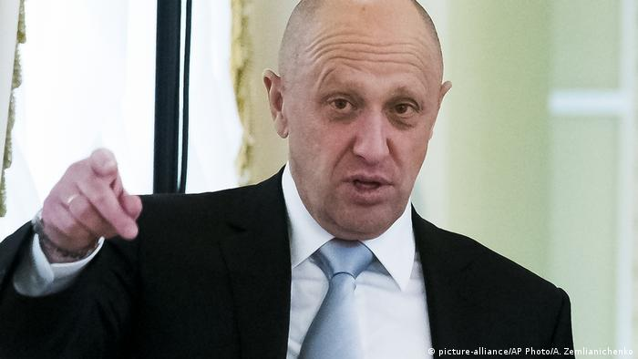 Бизнесмен Евгений Пригожин