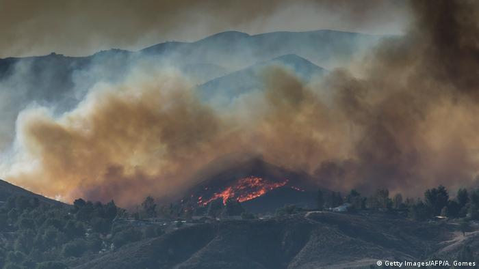 USA | Waldbrände in Californien (Getty Images/AFP/A. Gomes)