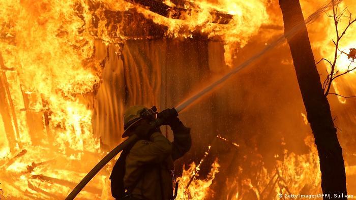USA | Waldbrände in Californien (Getty Images/AFP/J. Sullivan)