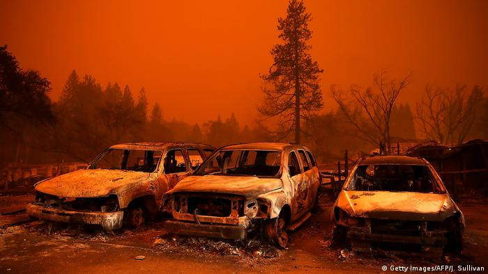USA   Waldbrände in Californien