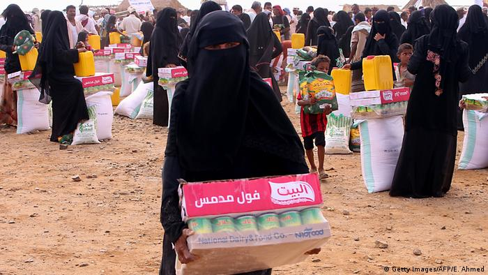 Food deliveries in Hajjah province in October