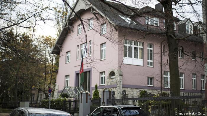 Афганское посольство в Берлине (фото из архива)
