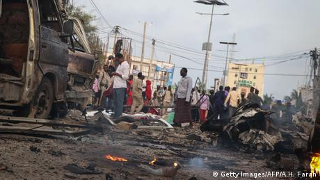 Somalia Explosion in Mogadischu (Getty Images/AFP/A.H. Farah)