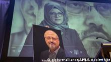 Fall Khashoggi - Gedenkveranstaltung in Washington