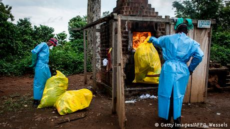 Ebola im Kongo (Getty Images/AFP/J. Wessels)