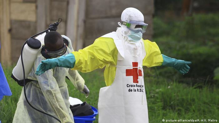 Ebola im Kongo (picture-alliance/dpa/A.-H.K. Maliro)