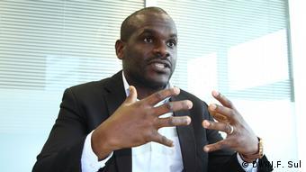 Angola Interview Olivio Kilumbo