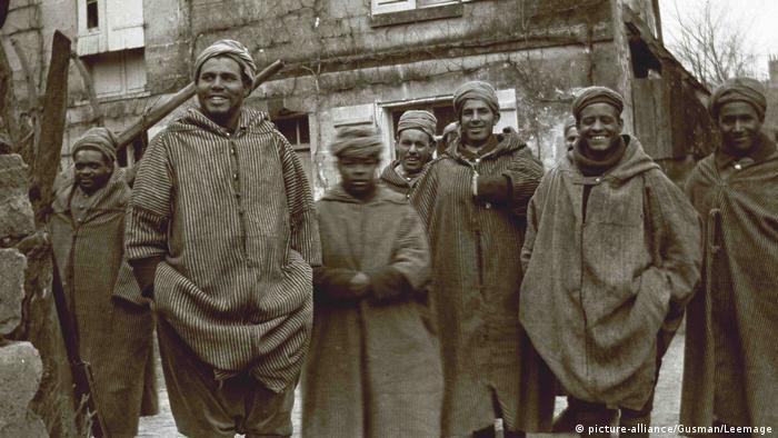 Die Schwarze Armee - Afrikaner im 1. Weltkrieg (picture-alliance/Gusman/Leemage)