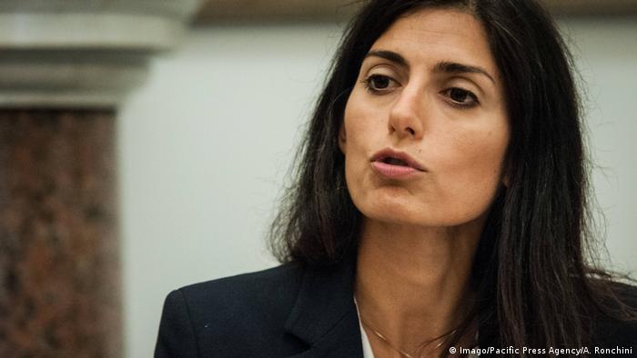 Italien Roms Bürgermeisterin Virgina Raggi