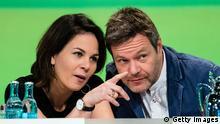 Deutschland Parteitag Die Grünen in Leipzig | Annalena Baerbock und Robert Habeck