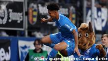 Fußball Bundesliga 10. Spieltag | TSG 1899 Hoffenheim v FC Augsburg | Torjubel (2:1)