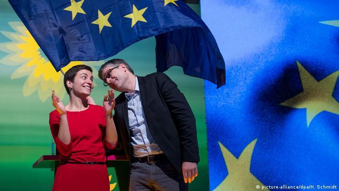 Deutschland Parteitag Die Grünen in Leipzig (picture-alliance/dpa/H. Schmidt)