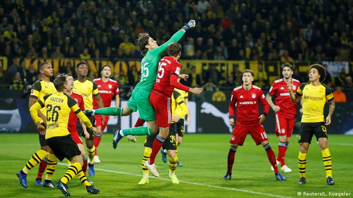 Fußball Bundesliga 10. Spieltag | Borussia Dortmund v Bayern München (Reuters/L. Kuegeler)