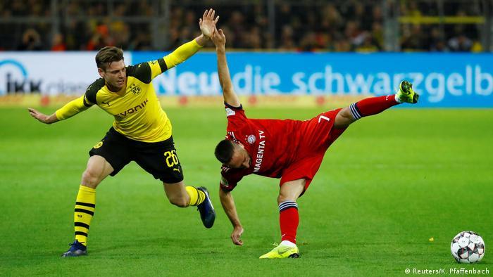 Quando se enfrentaram em novembro passado, deu Borussia Dortmund: 3 a 2