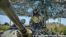 18.06.2018 June 18, 2018 - Luhansk, Ukraine - Soldiers of the Ukrainian army on the front line during the Joint Forces Operation in Donbass area, Luhansk region, Ukraine, on June 2018. During the last few months, active military actions resumed in Luhansk region. Regardless of the cease-fire regime, its violation is constantly occurring from the separatists side, resulting in casualties both among the military and the civilian population of Ukraine. Luhansk Ukraine PUBLICATIONxINxGERxSUIxAUTxONLY - ZUMAn230 20180618_zaa_n230_1417 Copyright: xOleksandrxRupetax