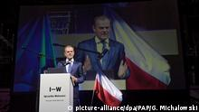 Polen | Donald Tusk auf dem Freedom Games Event in Lodz