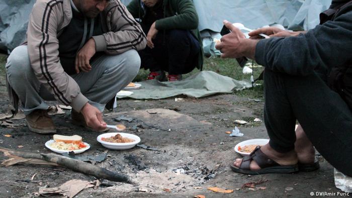 Flüchtlinge in Bosnien (DW/Amir Puric)