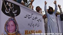 Pakistan Proteste gegen Christin Asia Bibi (Getty Images/AFP/A. Hassan)