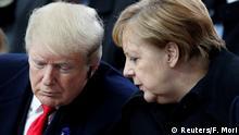100 Jahre Ende Erster Weltkrieg Gedenkfeier in Paris Merkel und Trump