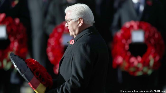Frank-Walter Steinmeier (picture-alliance/empics/A. Matthews)
