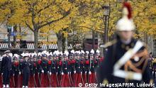 100 Jahre Ende Erster Weltkrieg Gedenkfeier Paris