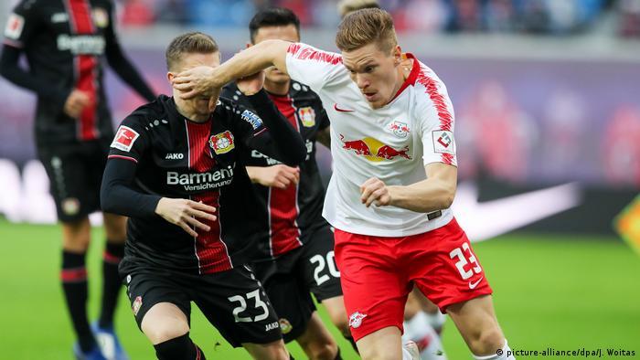 Fußball Bundesliga 10. Spieltag   RB Leipzig - Bayer Leverkusen