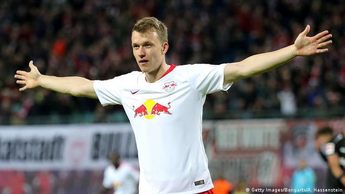 Fußball Bundesliga 11. Spieltag   RB Leipzig - Bayer Leverkusen   Torjubel (2:0)