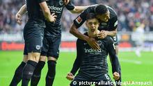 Fußball Bundesliga 11. Spieltag | Eintracht Frankfurt - FC Schalke 04