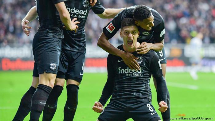 Fußball Bundesliga 11. Spieltag   Eintracht Frankfurt - FC Schalke 04