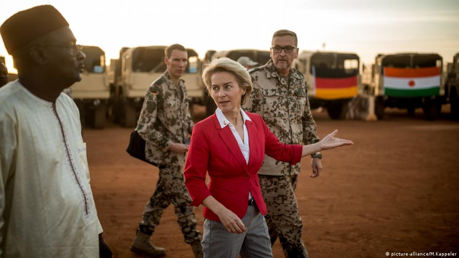 Germany opens new military camp in Niger   News   DW   11 ...