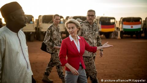 Germany opens new military camp in Niger