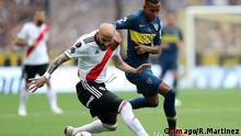 Fußball, Boca Juniors gegen River Plate, Finale, Copa Libertadores