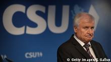 Bayern Ministerpräsident Horst Seehofer