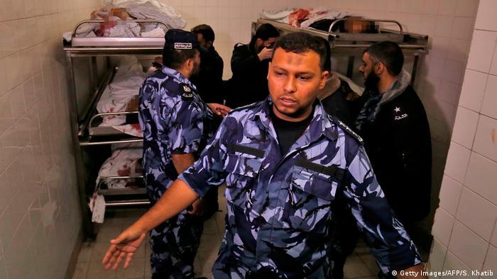 Gazastreifen Khan Youni Getötete Hamas Mitglieder (Getty Images/AFP/S. Khatib)
