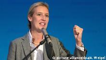 Landtagswahl in Bayern - Wahlparty AfD Alice Weidel