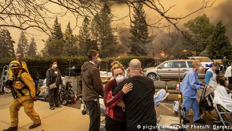 USA Waldbrände in Kalifornien (picture-alliance/AP Photo/N. Berger)
