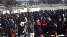 Demonstration Kabul Afghanistan Taliban Sicherheit