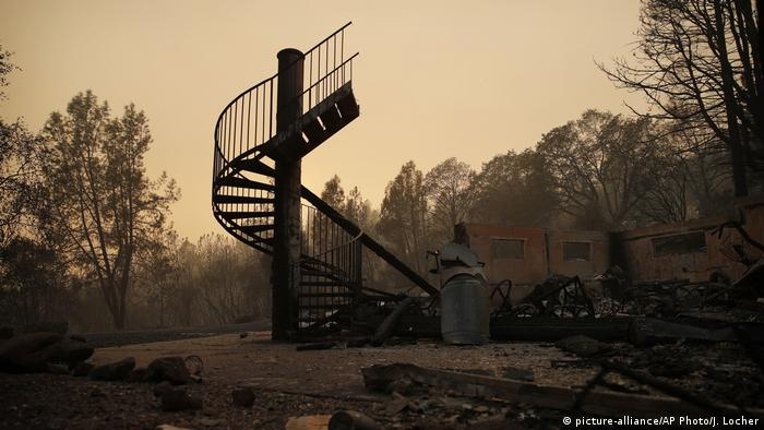 Death toll from California wildfires rises to 44