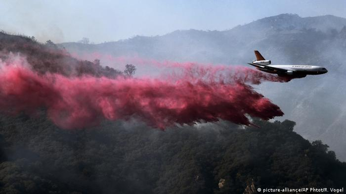 California wildfires (picture-alliance/AP Phtot/R. Vogel)