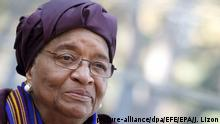 Ellen Johnson-Sirleaf (picture-alliance/dpa/EFE/EPA/J. Lizon)