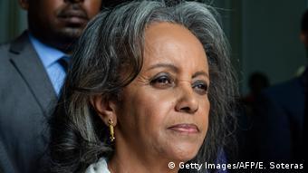 Sahle-Work Zewde, la seule femme cheffe d'Etat du continent