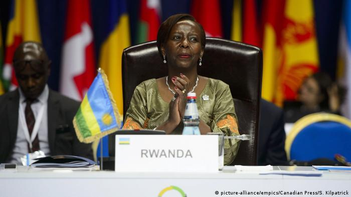 Louise Mushikiwabo (picture-alliance/empics/Canadian Press/S. Kilpatrick)