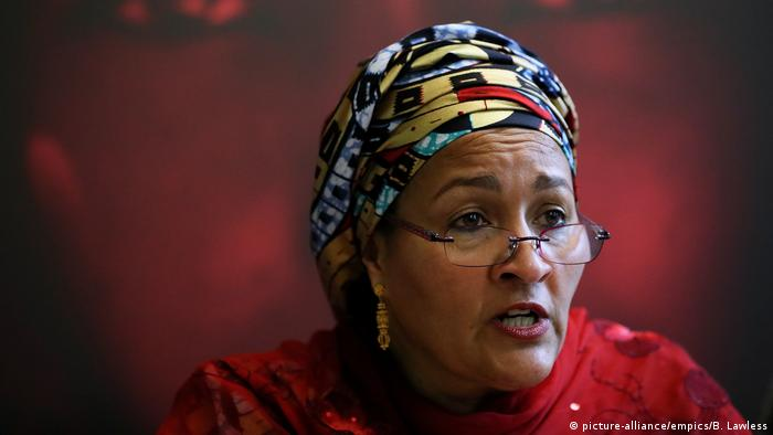 Amina Mohammed (picture-alliance/empics/B. Lawless)