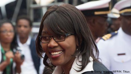 Saara Kuugongelwa-Amadhila (Getty Images/AFP/H. Titus)