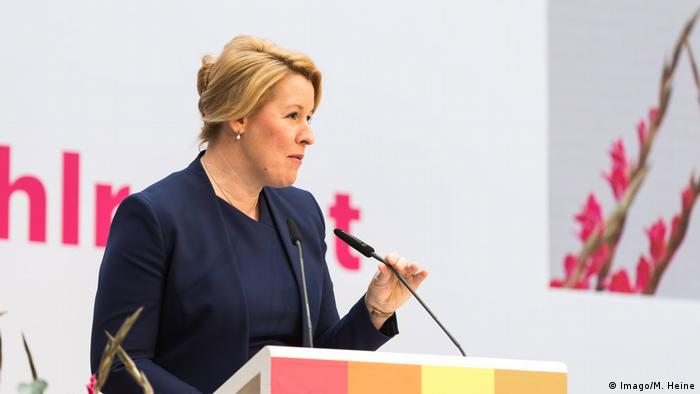 German Family Minister Franziska Giffey