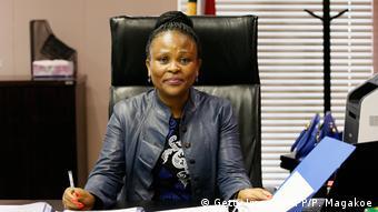 Busisiwe Mkhwebane, Médiatrice de la République