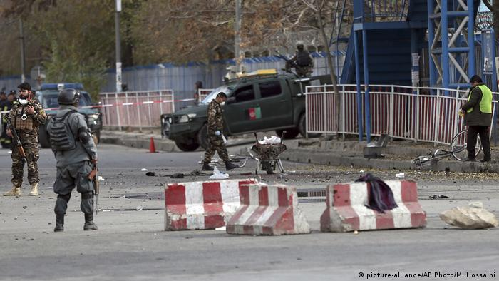 Afghanistan Anschlag in Kabul (picture-alliance/AP Photo/M. Hossaini)
